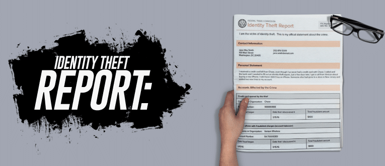 Identity Theft Report